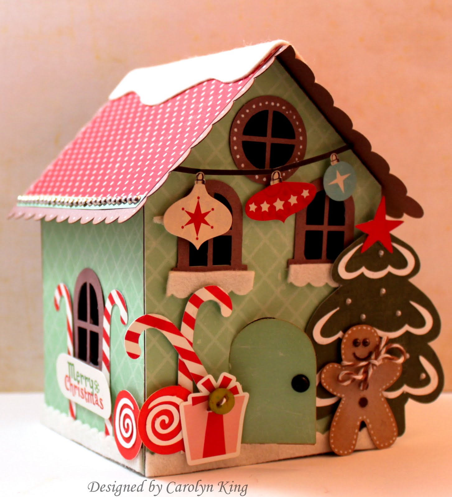 My blog gingerbread house for How do you make a gingerbread house