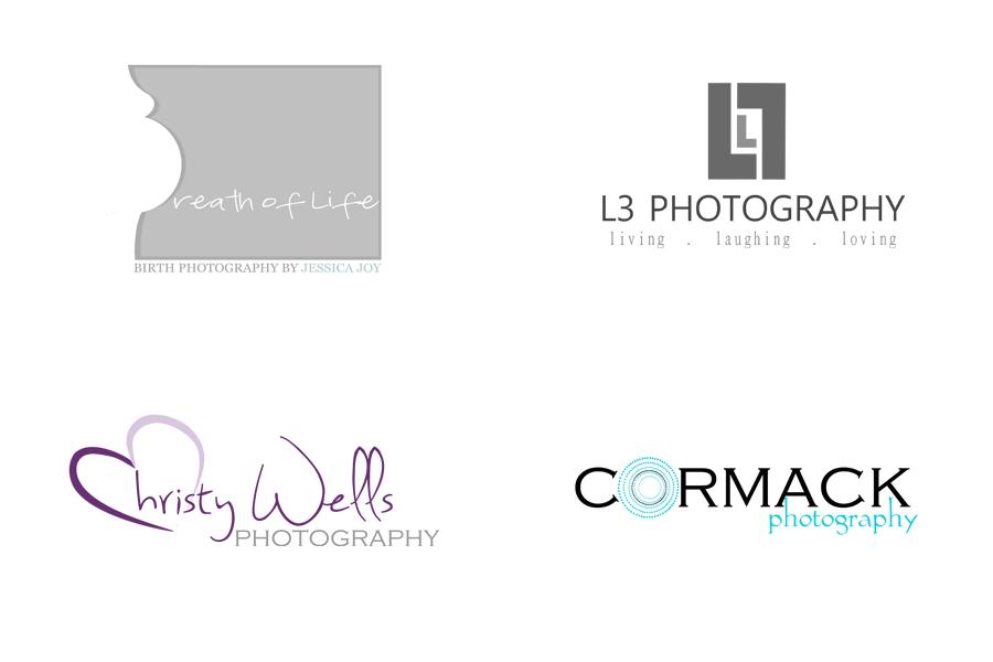 Photography Logo Design Samples 1 custom logo design