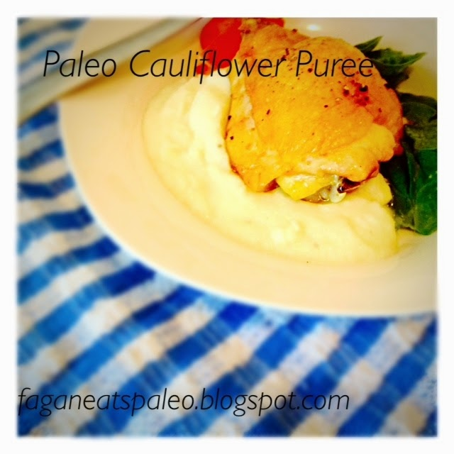 Paleo Cauliflower Puree