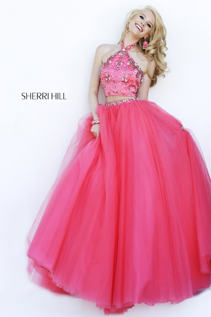 Sherri Hill Prom Dresses pink 1