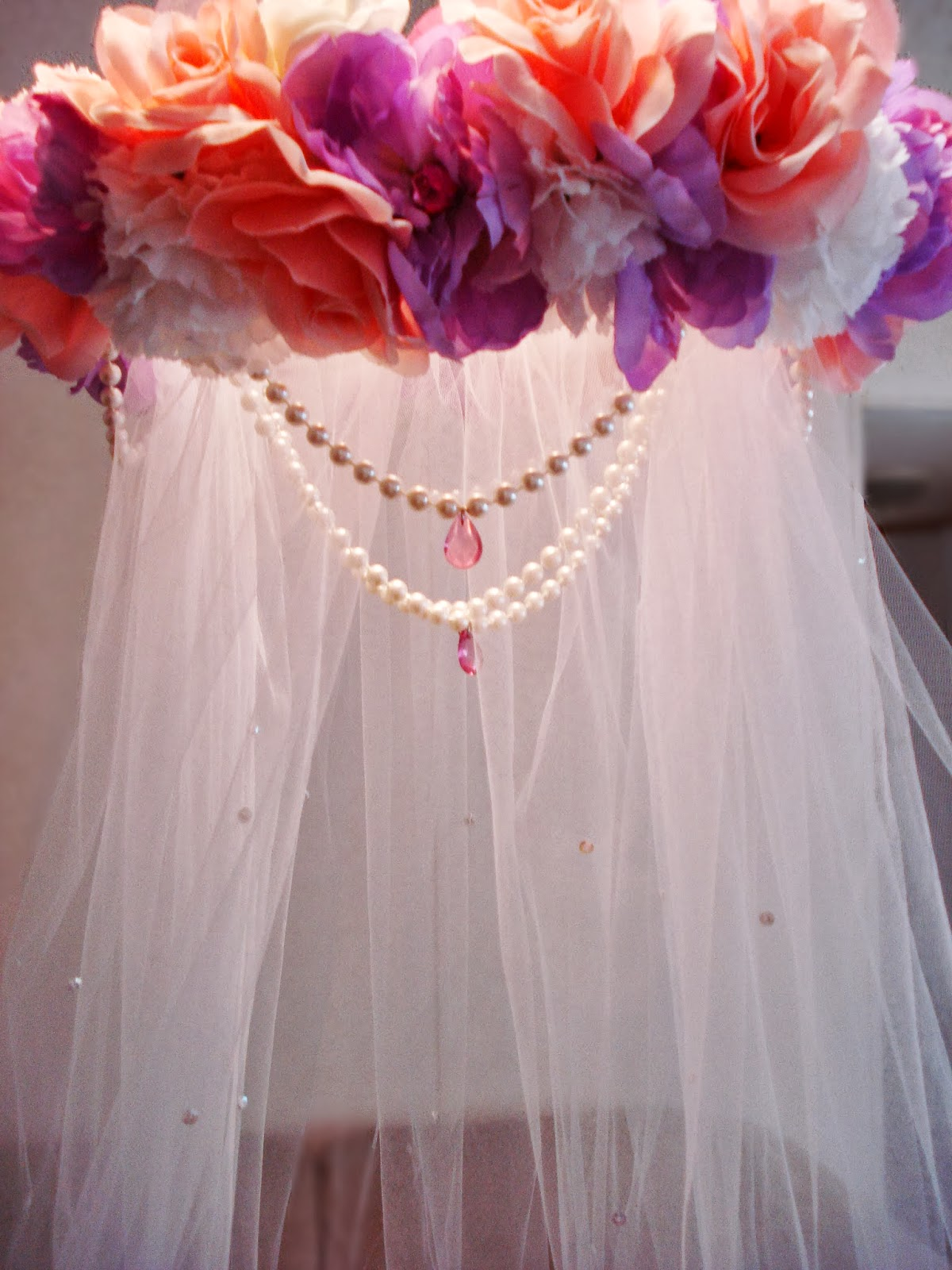 Spins On Pins DIY Princess Flower Easy Canopy