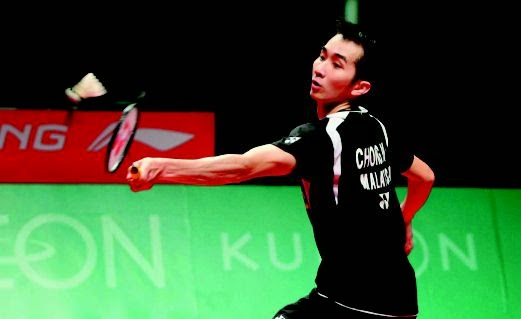 Wei Feng Ke Suku Akhir Kejohanan Badminton Asia ABC