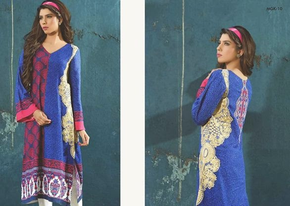 Embroidered Kurti Collection 2015 Vol 1 by Magnifique