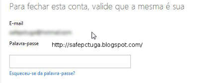 Como excluir conta Hotmail (MSN)