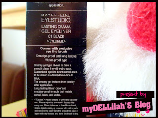warna Maybelline Gel Eyeliner Lasting Drama