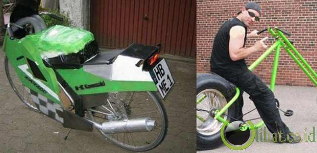 12 Sepeda dengan Desain yang paling tidak Lazim 12