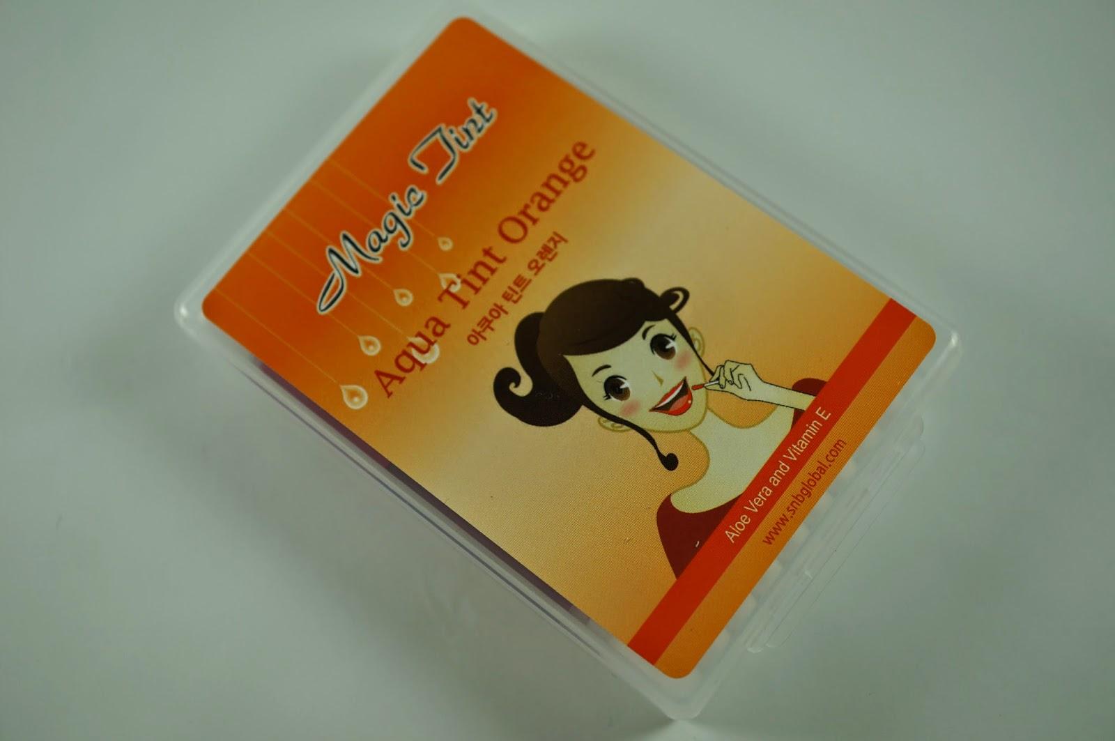 Memebox #25 Traveller's Traveler's Beauty Kit Unboxing Review S&B Aqua Tint Orange