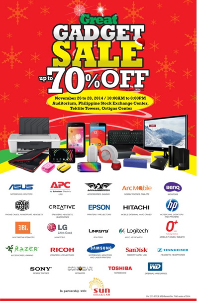 The Great Gadget Sale!