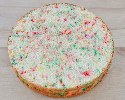 how to make a cake level
