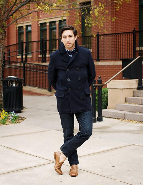 Neo Trad: Unabashedly Prep: Schott Pea Coat - the real deal