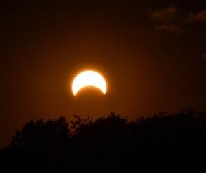 Eclipse parcail de Luna 4 de Junio de 2012