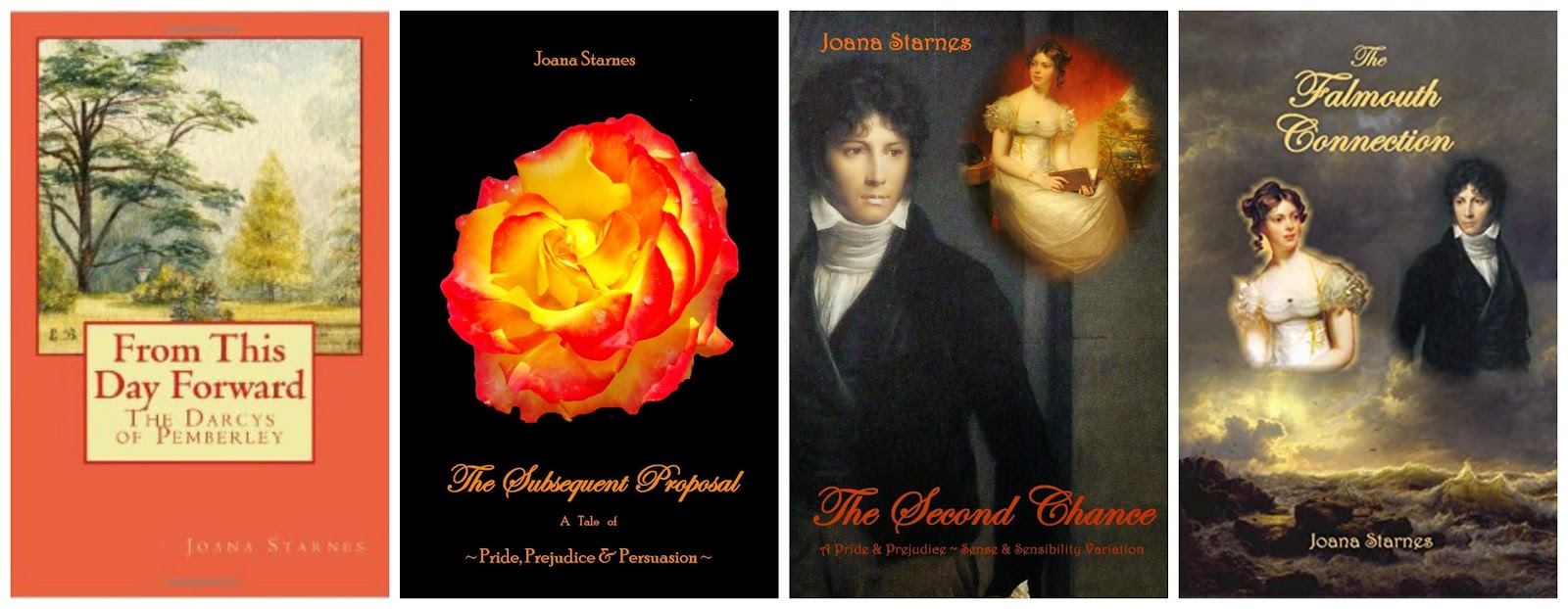 Book Covers - Joana Starnes