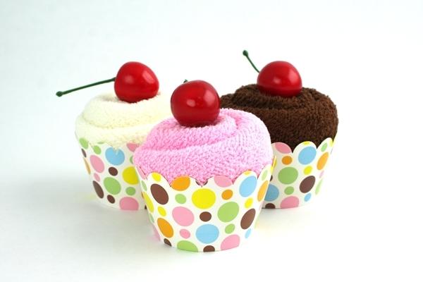 Cupcake Towel