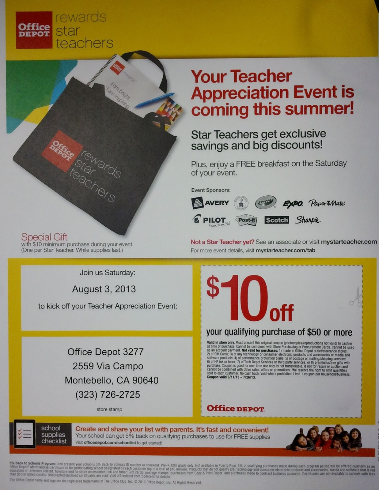 Teacher Resources - Office Depot.