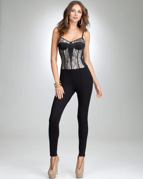 Beautiful Hot Black Women Jumpsuit