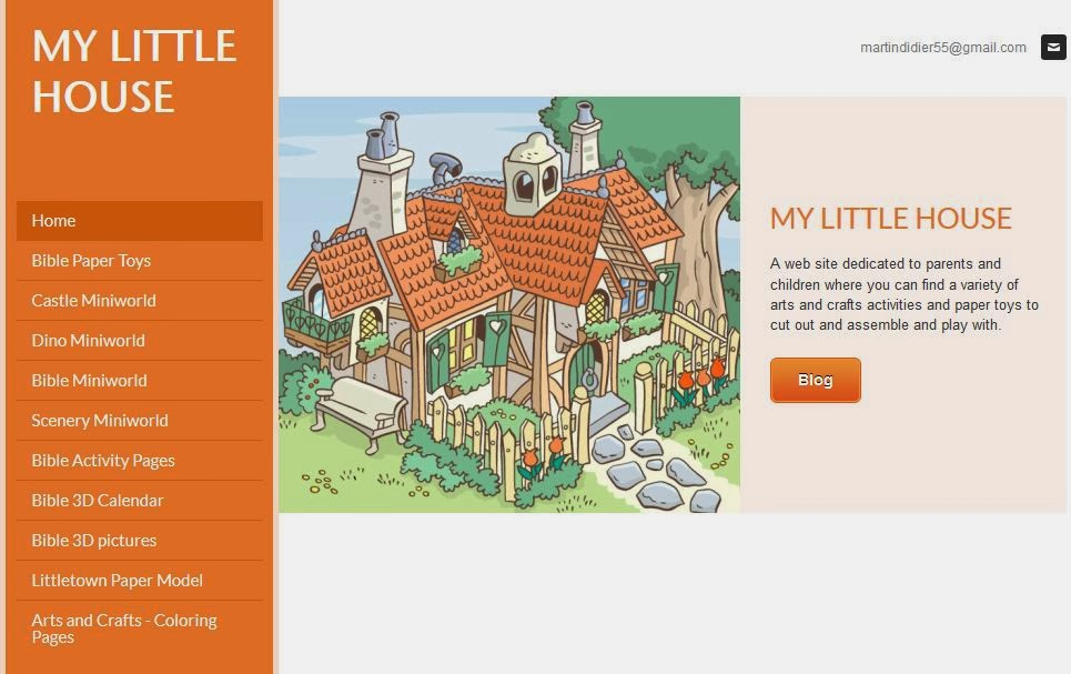 My Little House Web Site