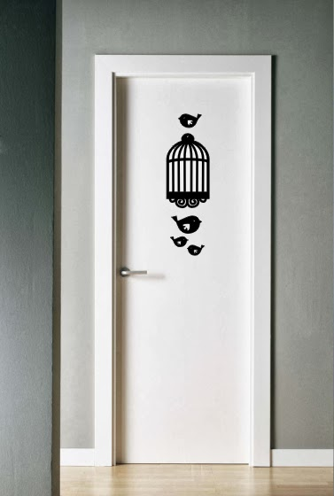 Plantilla Decorativa Puerta