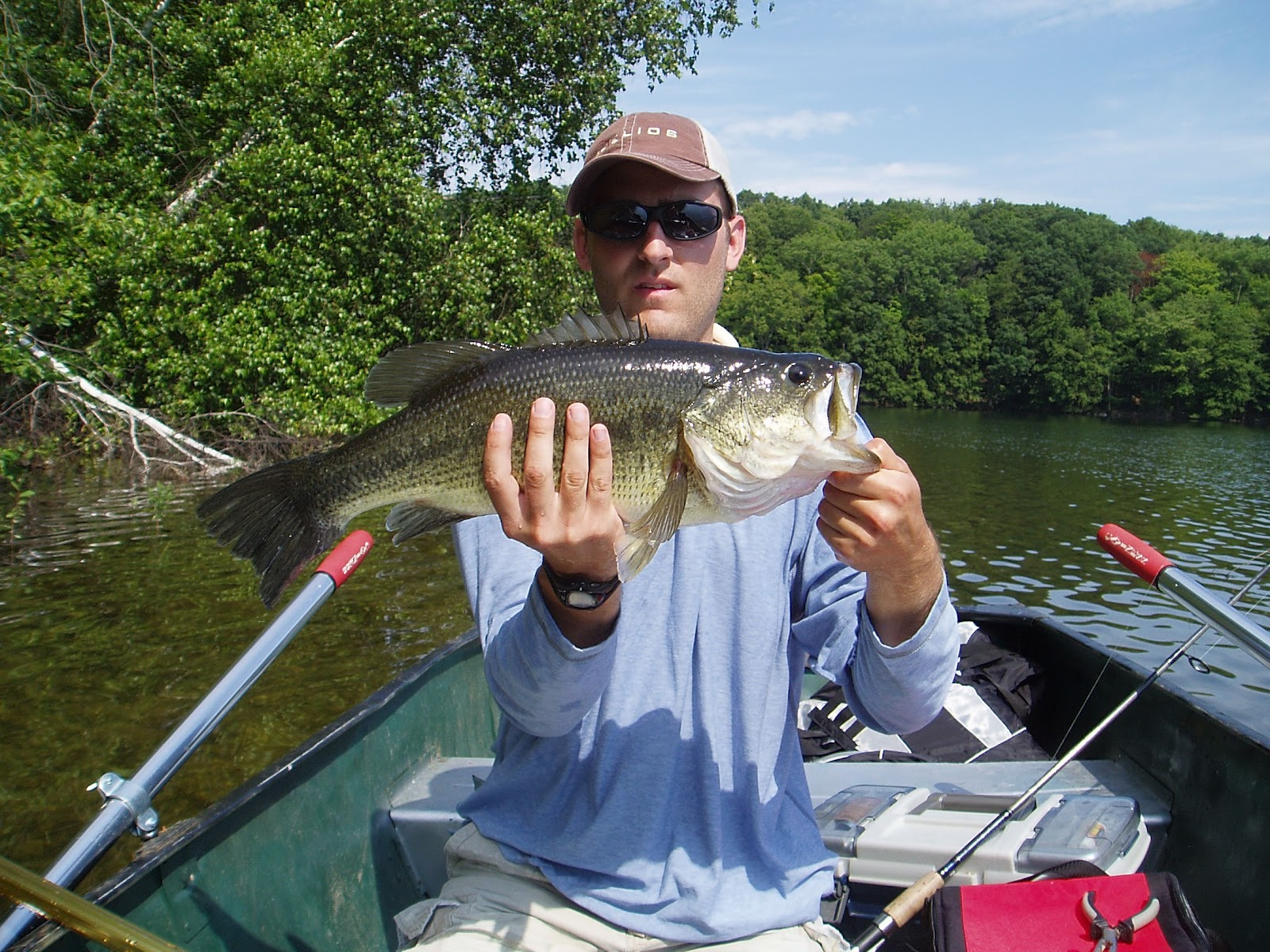 Reservoir fishing croton falls bass for Falls lake fishing