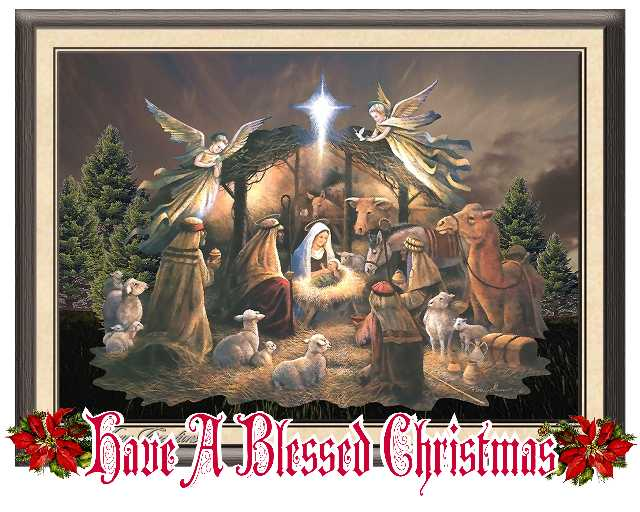 merry blessed christmas