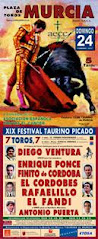 XIX FESTIVAL A BENEFICIO DE AECC 2013
