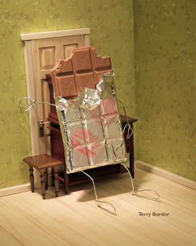 Chokolade i livsfare blokerer døren