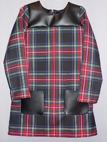 tutorial vestido con canesú y bolsillos de plastón para niña Pequeña Fashionista