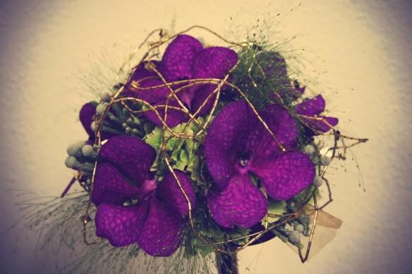 Bouquets y Ramos para Bodas Morados, parte 1