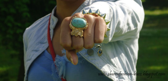 Yves saint laurent jewelry look-alike