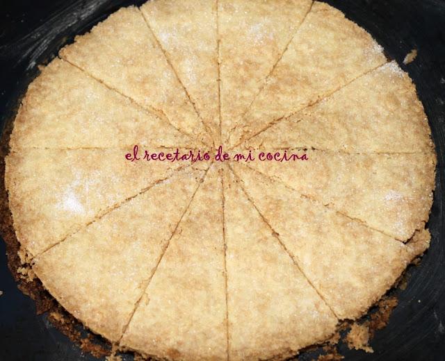 shortbread galletas de mantequilla