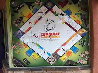 Colorado Springs business using Monopoly layout