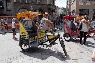 Велосипедный город Мюнхен