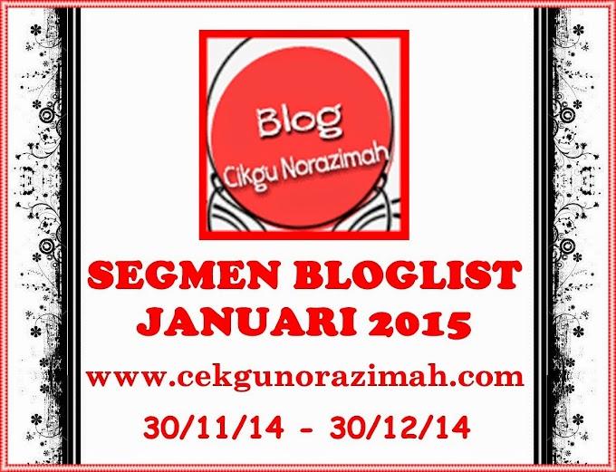Segmen Bloglist Januari 2015 by CN