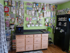 My Scrapbooking Room Re-Organization :)