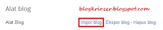 Cara Memindahkan Seluruh Postingan ke Blog yang Baru