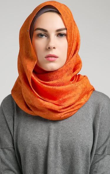 Hijab Modern dengan Kerudung Segi Empat