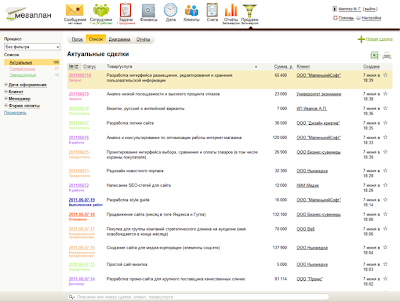 crm система для ведения бизнеса.