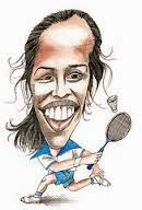 Saina Newal cartoon