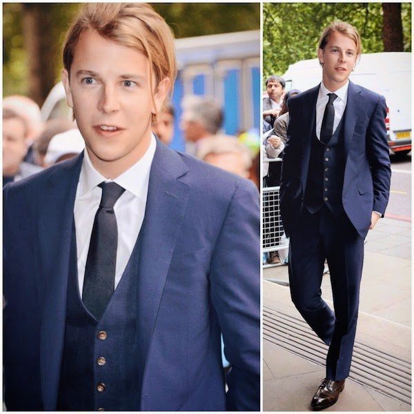 Tom Odell in Ralph Lauren - Ivor Novello Awards 2014 #ivornovellos