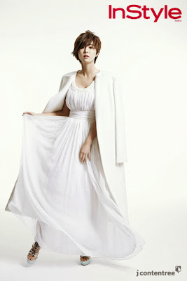 Park Han Byul - InStyle Magazine December Issue 2013