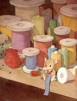 Amo costurar...