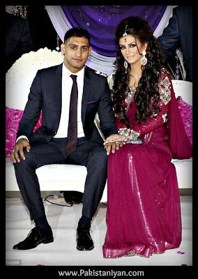 Amir Khan Boxer And Faryal Makhdoom's Wedding Pictures