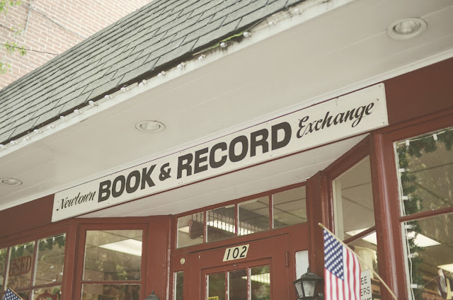 Newtown, Pennsylvania, Book, Record, Exchange,