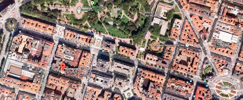 Restaurante-Farketa56-Bilbao-Mapa-Zoom