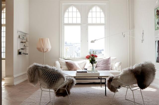 Decoracion clasica, estilo nordico. Un calmado piso en Malmö ...