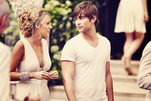 gossip girl, blake lively, hair, pretty hair, chace crawford, serenate