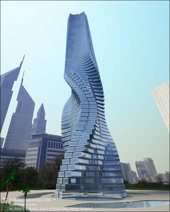 Rotating-Tower-Dubai-Uae