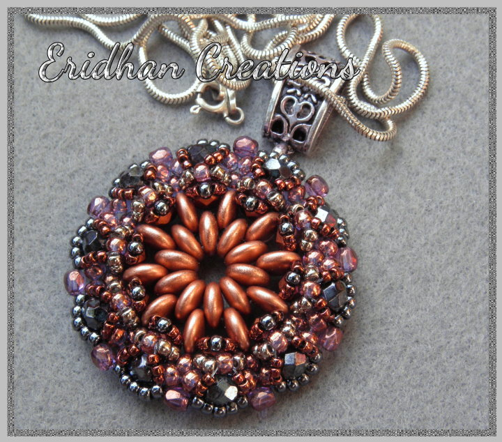 beaded pendant pattern