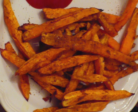 Beasley Farm of Brooksville: Curried Sweet Potato Fries