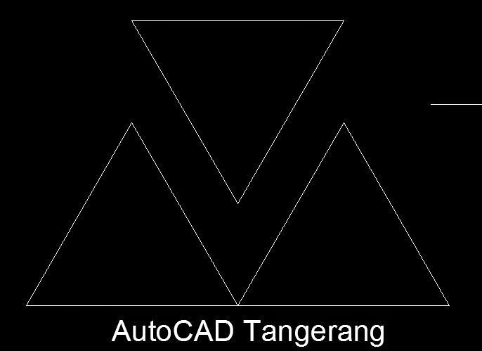 3 Cara Membuat Segitiga Menggunakan AutoCAD.