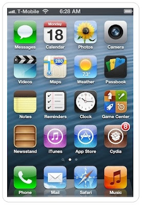 Cydia on iPhone iOS 6 after jailbreak